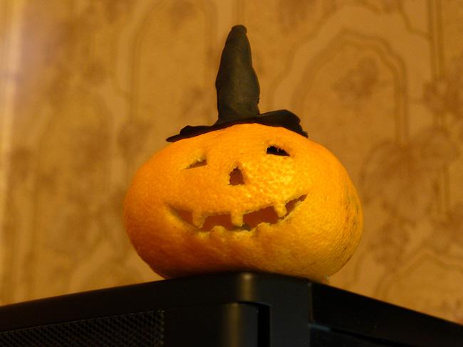 Мандарин Halloween