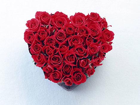 Розы на день Святого Валентина